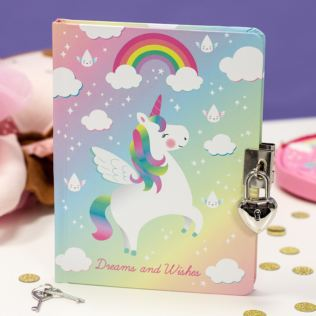 Rainbow Unicorn Secret Diary Product Image