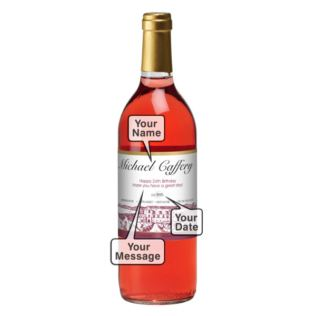 Personalised Rosé Wine Product Image