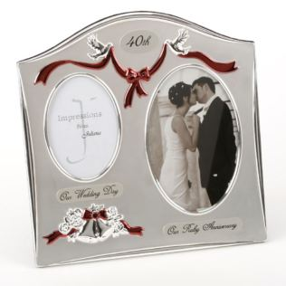 40th Anniversary Photo Frame Product Image