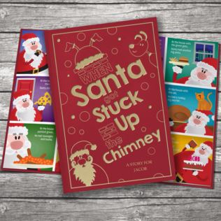 When Santa Got Stuck Up The Chimney - Classic Hardcover Product Image