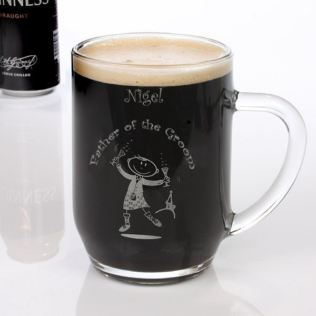 Etched Scottish Character Tankards Product Image