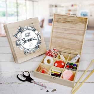 Personalised Sewing Box - 9 compartment Product Image