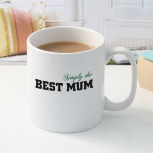 Simply The Best Mum Mug Product Image