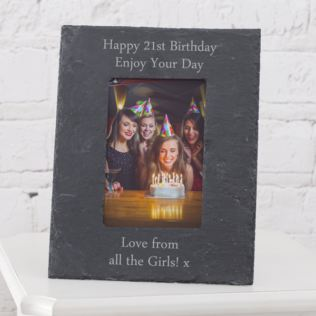 Personalised Slate 5x7 Photo Frame Product Image