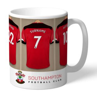 Personalised Southampton FC Dressing Room Mug Product Image