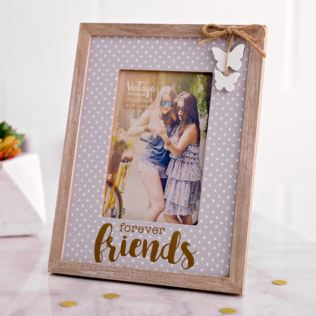 Vintage Boutique Forever Friends 6x4 Photo Frame Product Image