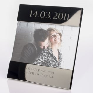 Engraved Special Date Photo Frame Product Image