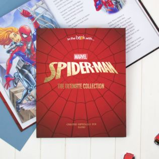 Personalised Spider-Man Collection Book Product Image