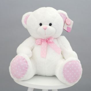 Baby Girl Bear Soft Toy Product Image