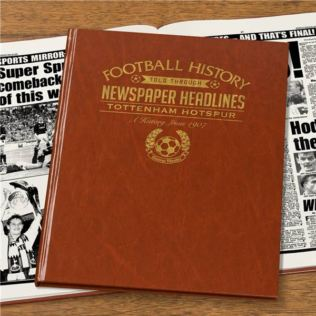 Personalised Tottenham Hotspur Football Book Product Image