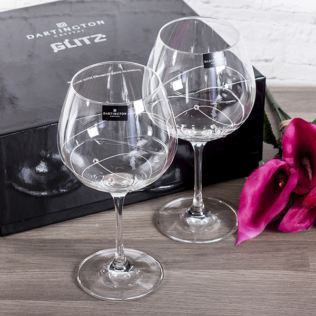 Personalised Dartington Glitz Gin Cocktail Glasses Product Image
