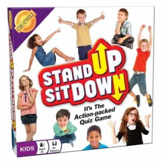 Stand Up Sit Down Quiz Game Product Image