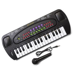 Electronic Keyboard and Microphone Product Image