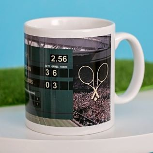 Personalised Tennis Mug Product Image