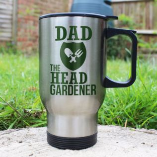 Personalised The Head Gardener's Travel Mug Product Image
