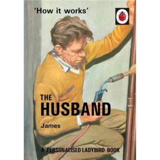 Personalised Ladybird Books For Adults