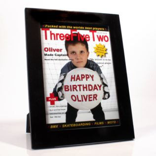 Personalised Football Magazine Cover Product Image