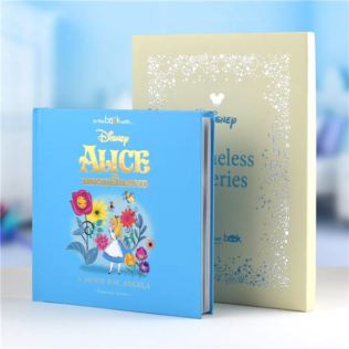 Timeless Alice In Wonderland Personalised Book Product Image