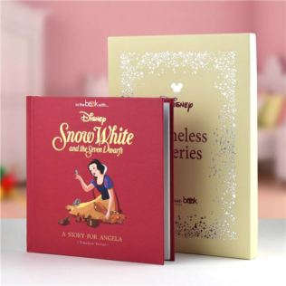 Timeless Snow White Personalised Book Product Image
