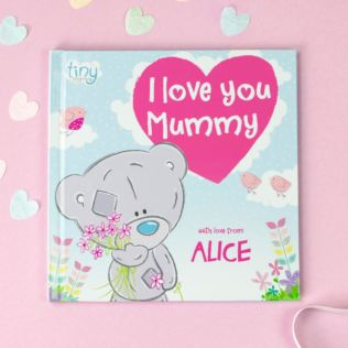 Personalised Tiny Tatty Teddy I Love You Mummy Book Product Image