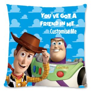 Personalised Disney Toy Story You've Got A Friend In Me Large Cushion Product Image
