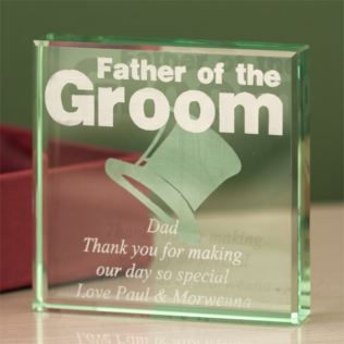 Father of the Groom Keepsake Product Image