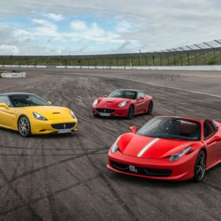 Triple Supercar Thrill with Free High Speed Passenger Ride – Week Round Product Image