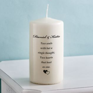 Unity Candle - Two Souls Product Image