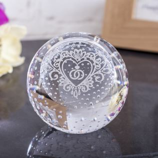 Special Day Celebration Paperweight By Caithness Glass Product Image