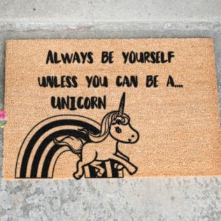 Unicorn Doormat Product Image