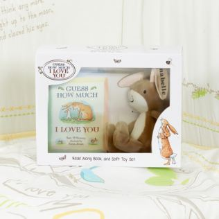 Personalised Guess How Much I Love You Book & Soft Toy Set Product Image