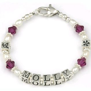 Personalised Christening Bracelet Product Image