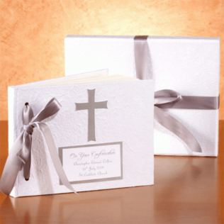 Personalised Cross Design Photo Album Product Image