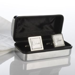 Personalised Usher Cufflinks Product Image