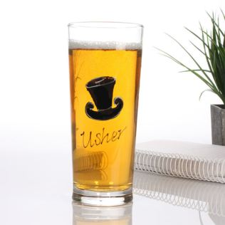 Usher Pint Glass Product Image