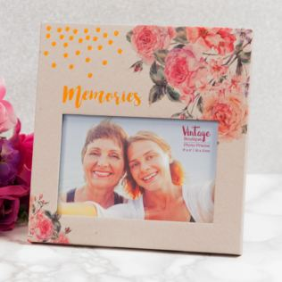 Vintage Boutique Paperwrap Memories Photo Frame 6 x 4 Product Image