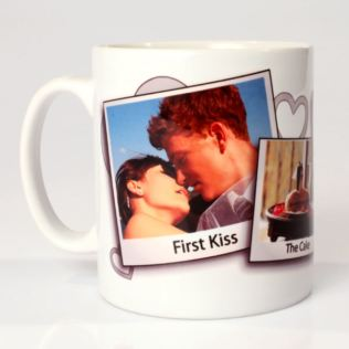 Personalised Wedding Photo Mug Product Image