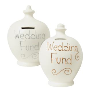 Wedding Fund Personalised Terramundi Money Pot Product Image