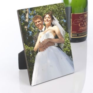 Wedding Photo Plaque Product Image