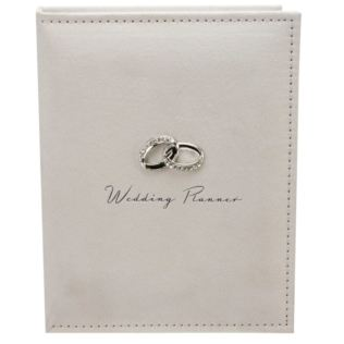 Wedding Planner with Entwined Rings Product Image