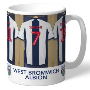 Personalised West Bromwich Albion FC Dressing Room Mug Product Image