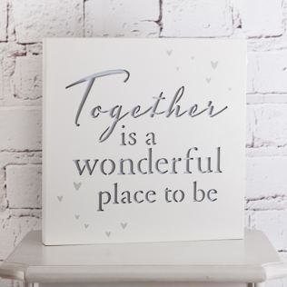 Together Light Up Plaque Product Image