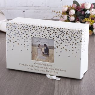 Amore Little Hearts Brides Keepsake Shoe Box Product Image