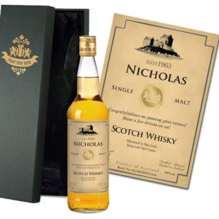 Personalised Single Malt Whisky Product Image