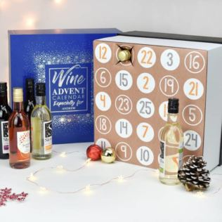 Personalised Wine Advent Calendar Product Image