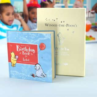Personalised Winnie-the-Pooh's Birthday Book Product Image