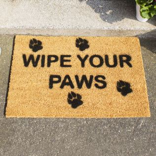 Wipe Your Paws Doormat Product Image