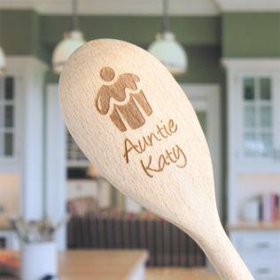 Personalised Wooden Spoon Product Image