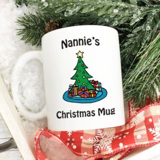 Personalised Christmas Mug Product Image