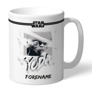 Personalised Star Wars Yoda Paint Mug Product Image